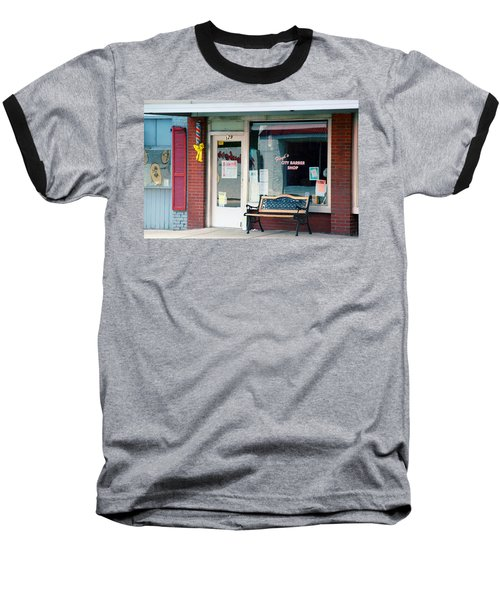 Floyd's Barber Shop Nc Baseball T-Shirt