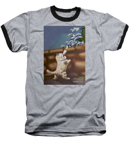 Fluff And Flutter Baseball T-Shirt