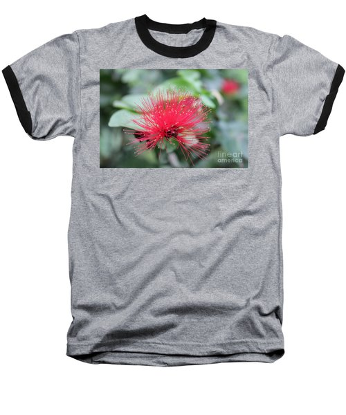Baseball T-Shirt featuring the photograph Fluffy Pink Flower by Sergey Lukashin