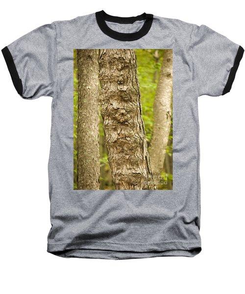 Fluted Tree Baseball T-Shirt