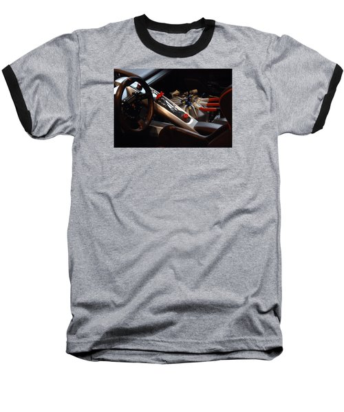 Baseball T-Shirt featuring the photograph Flux Capacitor by John Schneider