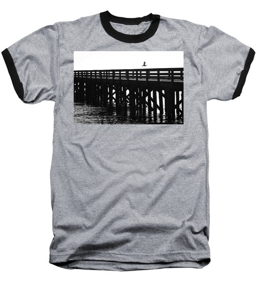 Baseball T-Shirt featuring the photograph Fly Away by Sonya Lang