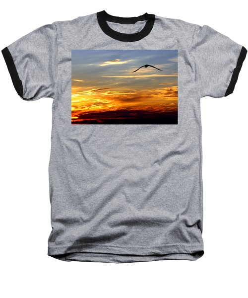 Fly Free Baseball T-Shirt