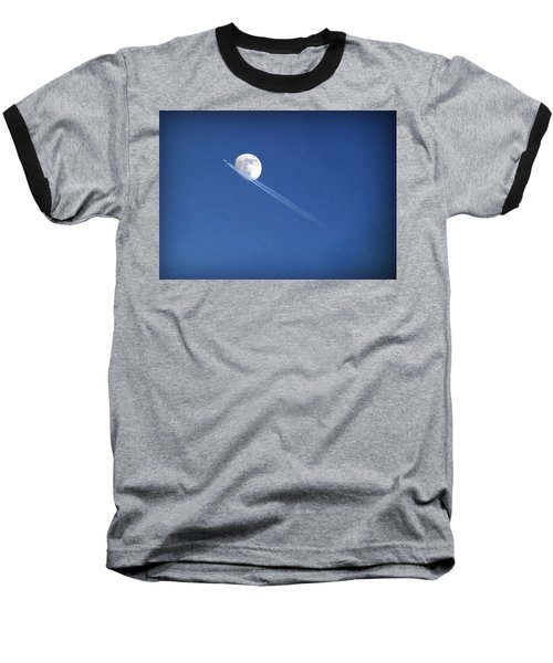 Fly Me To The Moon Baseball T-Shirt
