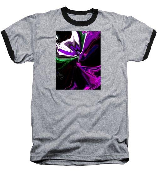 Purple Rain Homage To Prince Original Abstract Art Painting Baseball T-Shirt