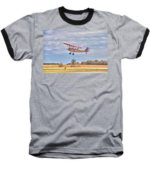 Flying Circus Barnstormers Baseball T-Shirt by Gordon Elwell