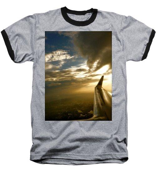 Flying Clouds By David Pucciarelli Baseball T-Shirt