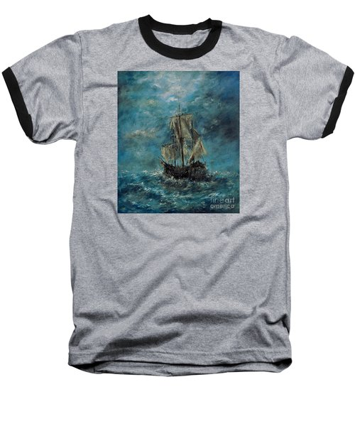 Flying Dutchman Baseball T-Shirt