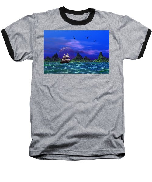 Baseball T-Shirt featuring the photograph Flying Dutchman by Mark Blauhoefer