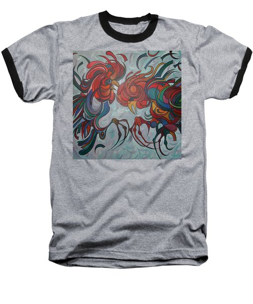 Flying Feathers Baseball T-Shirt