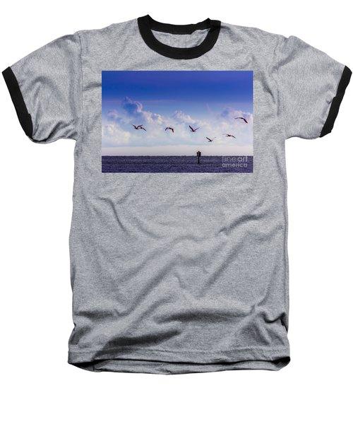 Flying Free Baseball T-Shirt