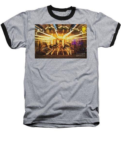 Flying Horses Carousel  Baseball T-Shirt