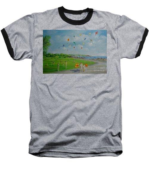 Flying Kites Newport Ri Baseball T-Shirt