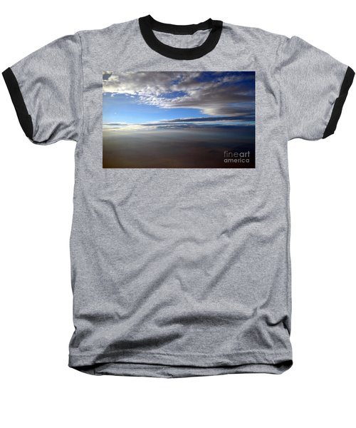 Flying Over Southern California Baseball T-Shirt