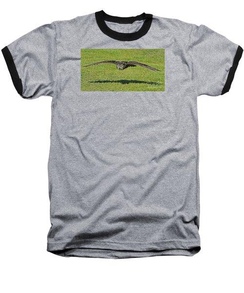 Flying Tiger... Baseball T-Shirt by Nina Stavlund