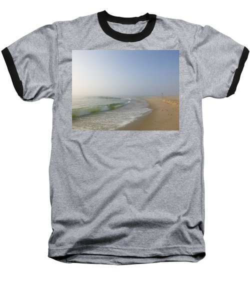 Fog And Blue Sky 2 Baseball T-Shirt