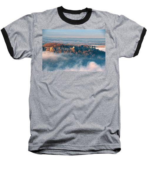 Fog Around The Fortress Koenigstein Baseball T-Shirt