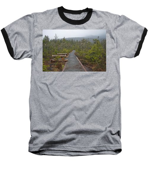 Fog On The Trail Baseball T-Shirt