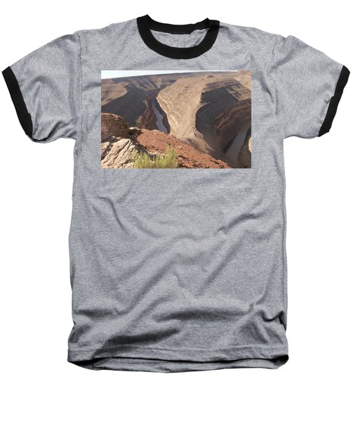 Baseball T-Shirt featuring the photograph Fog Over Gooseneck Park  by Fortunate Findings Shirley Dickerson