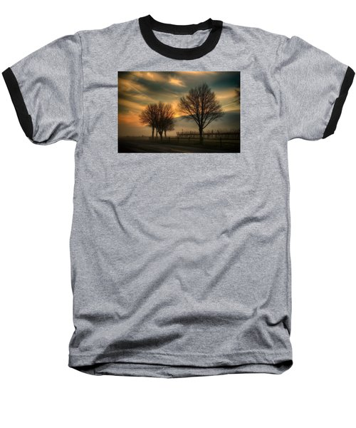Foggy And Dreamy Baseball T-Shirt