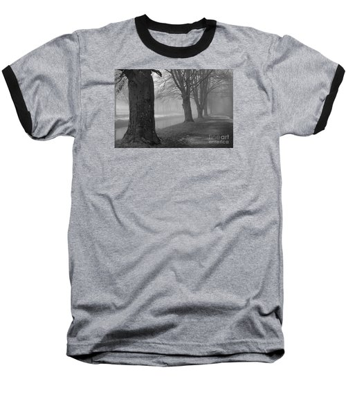 Baseball T-Shirt featuring the photograph Foggy Day by Randi Grace Nilsberg