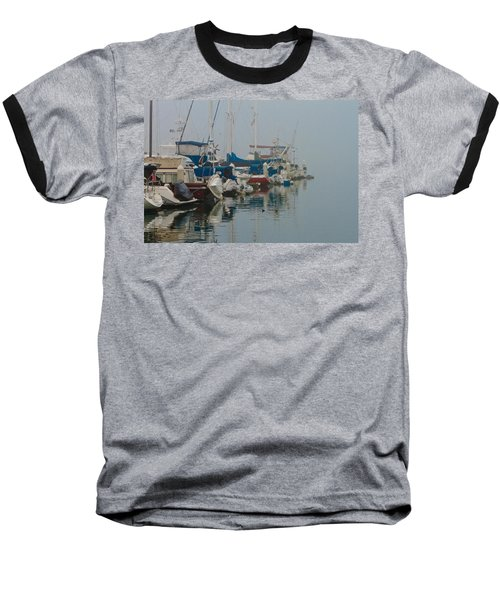 Foggy Harbor Baseball T-Shirt