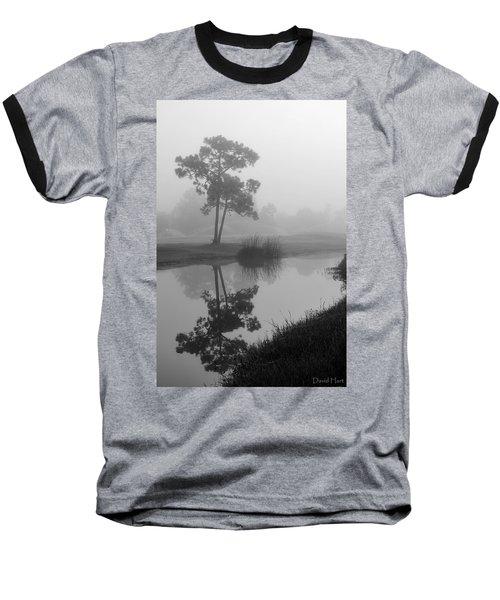 Foggy Morning 2 Baseball T-Shirt