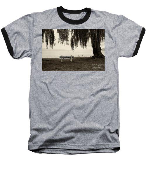 Foggy Morning At Stewart Park Baseball T-Shirt