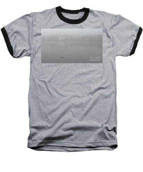 Foggy Morning In Paradise - 01 Baseball T-Shirt