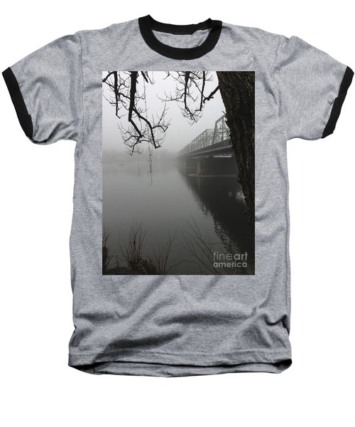 Foggy Morning In Paradise - The Bridge Baseball T-Shirt