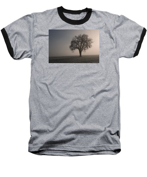 Foggy Morning Sunshine Baseball T-Shirt