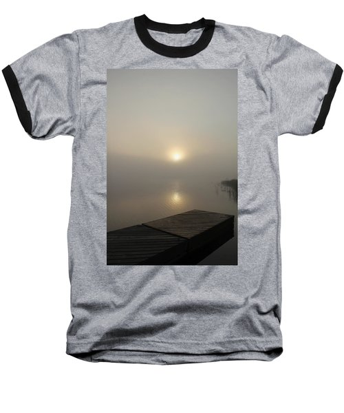 Foggy Reflections Baseball T-Shirt