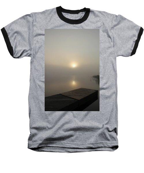Foggy Reflections Baseball T-Shirt