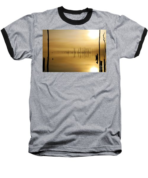 Foggy Rise Baseball T-Shirt