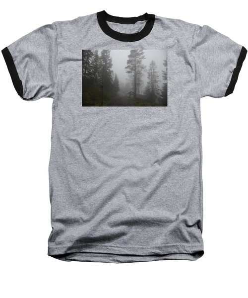Foggy Romance 1 Baseball T-Shirt