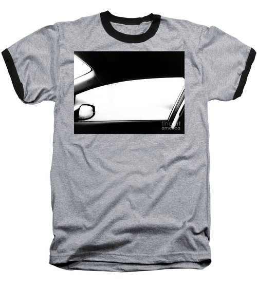 Foggy Window Baseball T-Shirt