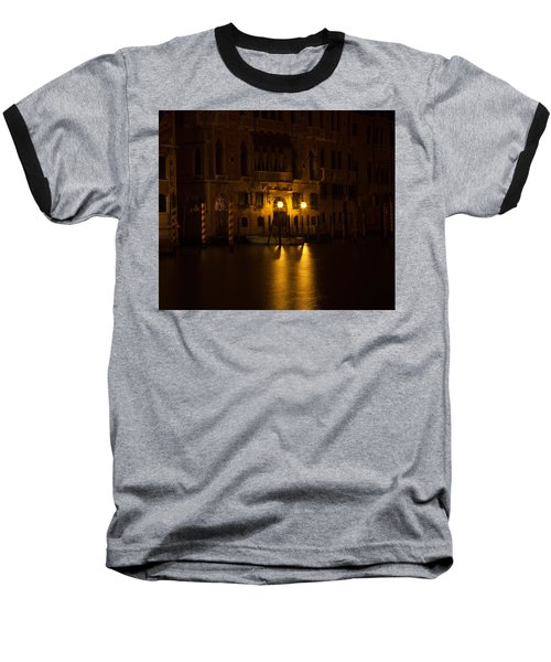 Follow Me Across The Water And Time Baseball T-Shirt by Alex Lapidus