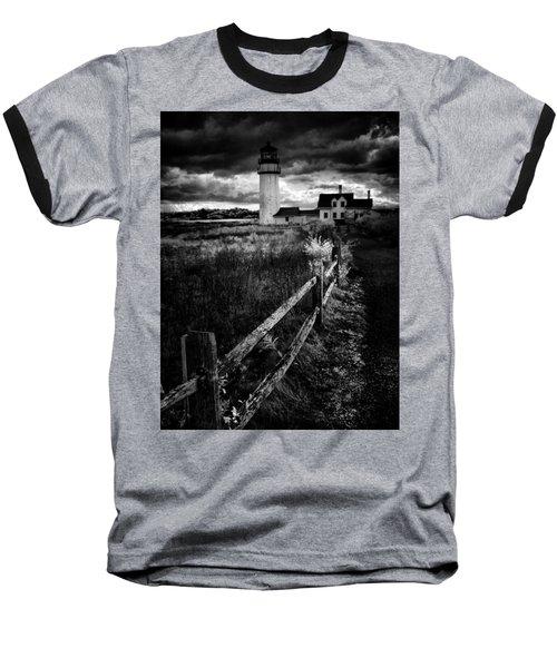 Follow Me Baseball T-Shirt by Robert McCubbin