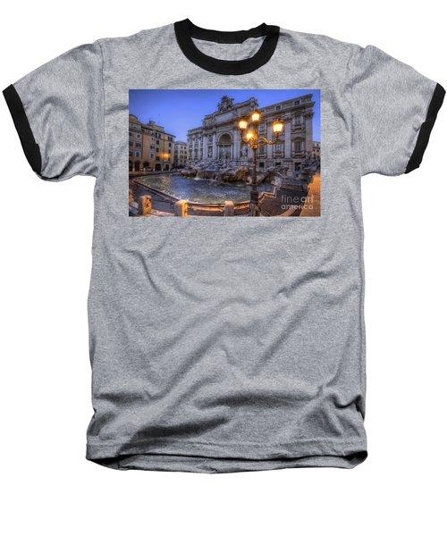 Fontana Di Trevi 3.0 Baseball T-Shirt