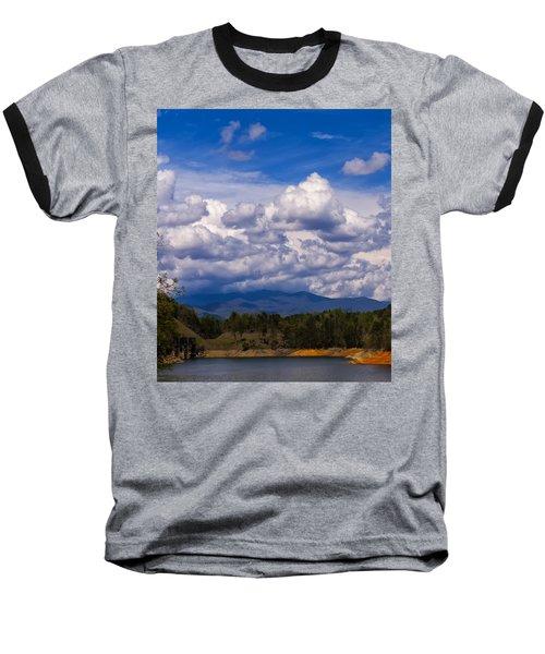 Fontana Lake Storm 2 Baseball T-Shirt by Chris Flees