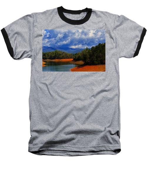 Fontana Lake Storm Baseball T-Shirt by Chris Flees