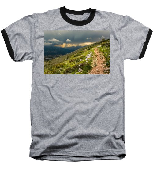 Foot Path Into The French Alps Baseball T-Shirt