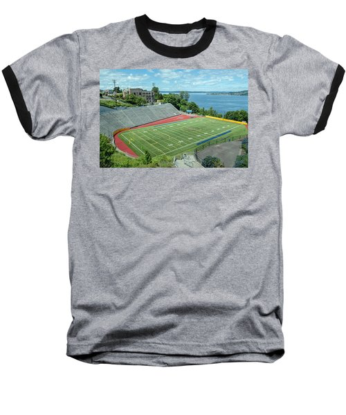 Football Field By The Bay Baseball T-Shirt