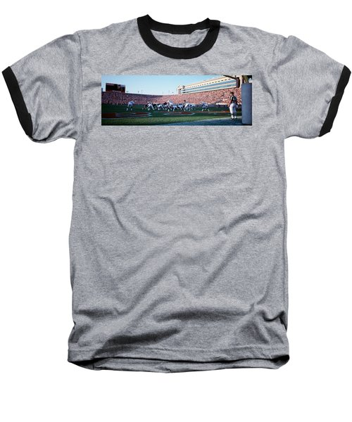 Football Game, Soldier Field, Chicago Baseball T-Shirt by Panoramic Images