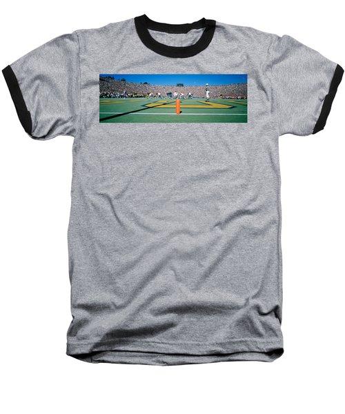 Football Game, University Of Michigan Baseball T-Shirt