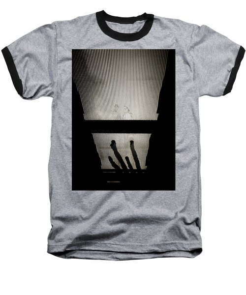 Footsteps And Faces Baseball T-Shirt