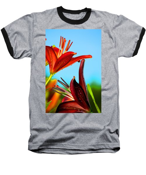 For The Love Of Lillies Baseball T-Shirt