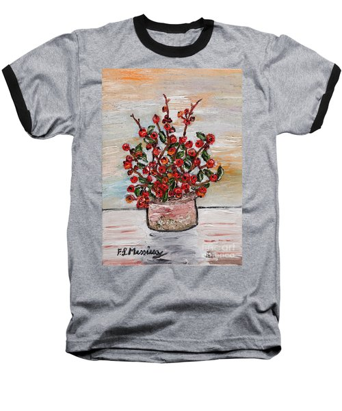 For You Baseball T-Shirt by Loredana Messina