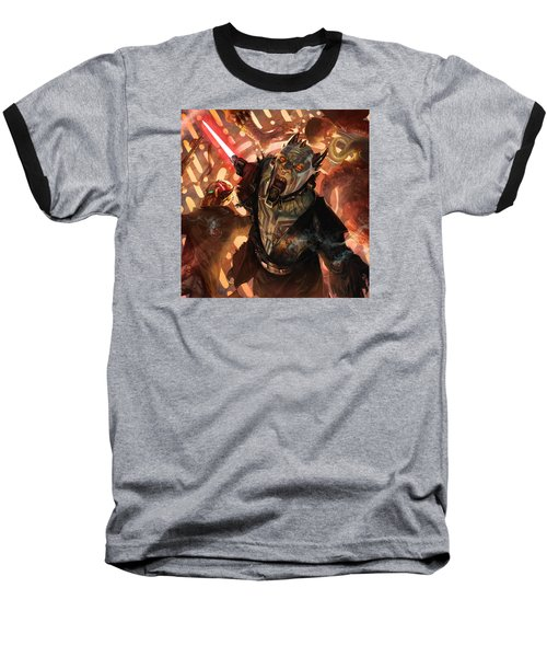 Force Scream Baseball T-Shirt
