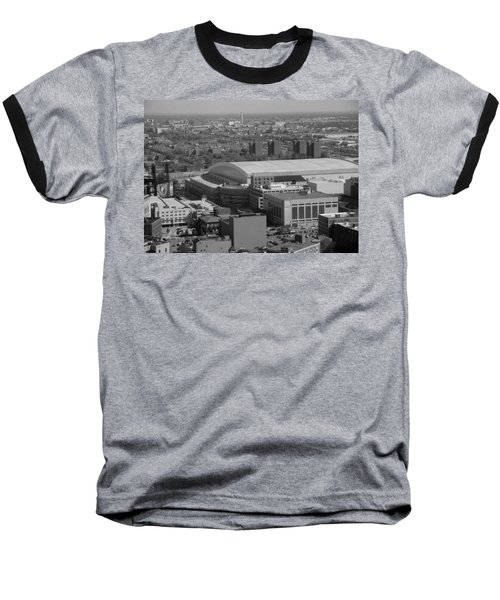 Ford Field Bw Baseball T-Shirt